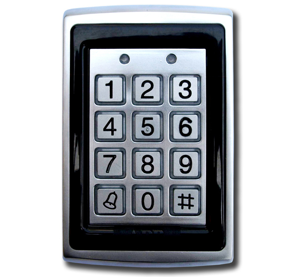 dg500 digital keypad proximity reader euro access. Black Bedroom Furniture Sets. Home Design Ideas