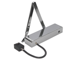 ARROW 624EM Slimline Hold Open/Swing Free Universal Electromagnetic Door Closer