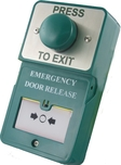 DUAL UNIT EXIT BUTTON