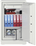 Fire safe combi for paper and data
